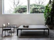 Lacquered plate coffee table FERRO | Coffee table - Porro