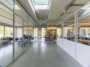 Parete mobile in vetro per ufficio FERROFINESTRA® | Parete mobile - Mogs srl unipersonale