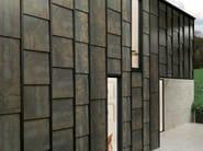 Outdoor porcelain stoneware wall tiles FERROKER | Outdoor wall tiles - Venis