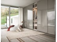 Wardrobe with sliding doors custom FINA - Lema