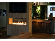 Built-in fireplace controlled by Wi-Fi and remote control FIRE LINE AUTOMATIC 3 - Planika