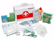 First Aid cabinet First-aid case a2 basic contents - Würth