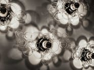 Blown glass wall lamp / ceiling lamp FIZZ SCONCE/CEILING - SkLO