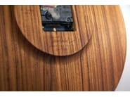 Wall-mounted teak clock FJ CLOCK - Architectmade