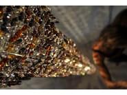 Halogen crystal pendant lamp FJORD | Crystal pendant lamp - Manooi