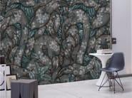 Motif panoramic wallpaper FLAMENCO - Inkiostro Bianco