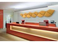 Decorative acoustical panels FLAP - Caimi Brevetti