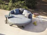 Round thermo lacquered aluminium garden bed FLAT | Round garden bed - GANDIA BLASCO