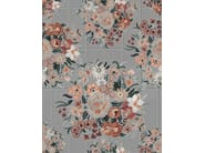 Outdoor wallpaper with floral pattern FLO - Wall&decò