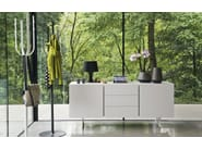 Painted metal coat stand FLOW - Calligaris