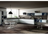 Lacquered fitted kitchen FLUX SWING - Scavolini