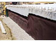 Earth retaining wall drainange and protection system FONDALINE EASY | Earth retaining wall drainange and protection system - ONDULINE ITALIA