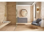 Pavimento/rivestimento resiliente in ceramica per interni ed esterni effetto legno FOREST | Pavimento/rivestimento effetto legno - Revigrés