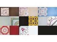 Ceramic wall/floor tiles with textile effect FOULARDS AUDREY - CERAMICA FRANCESCO DE MAIO