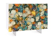 Lacquered highboard with doors FLORA   Highboard - Oliver B.