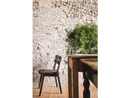 Open back wooden garden chair FRAME 11 - Very Wood