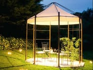 Metal gazebo with built-in lights FRASSANELLE - Aldo Bernardi