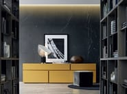 Lacquered wooden sideboard with drawers FREE | Sideboard - Poliform