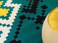Tappeto fatto a mano quadrato in lana a motivi geometrici FRISKY - Dare to Rug