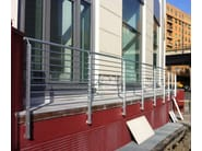 Aluminium Window railing FROSINONE - ALUSCALAE