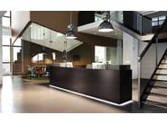 Banco per reception modulare con illuminazione FURONTO | Banco per reception - BALMA