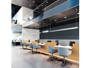 Banco per reception modulare con illuminazione FURONTO | Banco per reception - BALMA