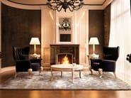 Rectangular silk rug FUSION - ITALY DREAM DESIGN - Kallisté
