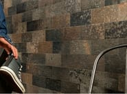 Porcelain stoneware wall/floor tiles with stone effect FUSION DARKS - ASTOR CERAMICHE