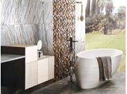 Freestanding oval natural stone bathtub FUTURE BIOPROT - L'Antic Colonial