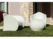 Polyethylene stool FUZZY STOOL - PLUST Collection by euro3plast