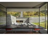 Thermal break metal patio door Facciate in metallo a taglio termico - Capoferri Serramenti