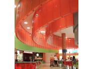 Expanded metal ceiling tiles False ceilings - FILS