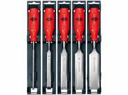 Firmer chisel set Firmer chisel set, plastic handle 5pcs - Würth