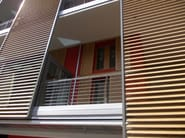 Motorized aluminium solar shading SUNLINE   FRANGISOLE   Aluminium solar shading - SIDEL