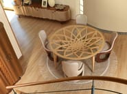 Wooden living room table GALILEO | Table - Carpanelli Contemporary