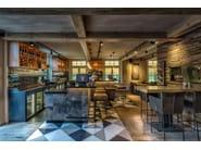 Indoor wooden 3D Wall Cladding GALLON - Wonderwall Studios
