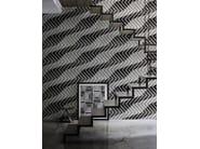 Motif optical wallpaper GERSHWIN - Wall&decò