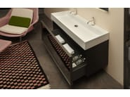 Vanity unit / bathroom furniture set GESTO   Bathroom furniture set - Antonio Lupi Design®