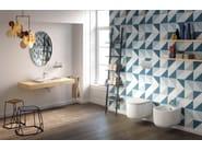 Wall-hung ceramic toilet GIÒ EVOLUTION RIMLESS - Hidra Ceramica