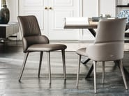 Upholstered fabric chair GINGER - Cattelan Italia