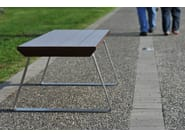 Backless wooden Bench GIO - LAB23 Gibillero Design Collection