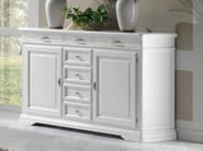 Solid wood sideboard with doors GIOTTO | Lacquered sideboard - Arvestyle