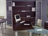 Wooden office storage unit / office shelving GIOVE | Office shelving - Arcadia Componibili - Gruppo Penta