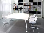 Rectangular meeting table GLAMOUR MEETING - Sinetica Industries