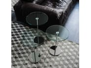 Round crystal high side table GLISS - Cattelan Italia