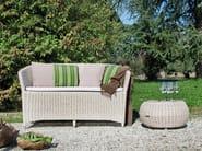 Contemporary style 2 seater garden sofa GLOBE   Sofa - Atmosphera