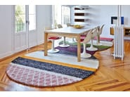 Striped wool rug GLOBO | Rug - GAN By Gandia Blasco