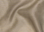 Striped Trevira® CS fabric for curtains GOLD SHADOW - Gancedo
