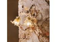 Classic style handmade glass chandelier GOLDEN CENTURY 86   Venetian style chandelier - MULTIFORME