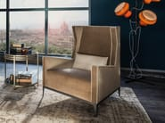 Armchair with armrests GOLDFINGER - Arketipo